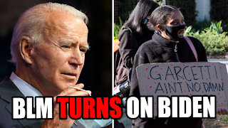 BLM Already TURNS ON BIDEN!