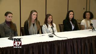 Victims of Larry Nassar turn sights to MSU, others after federal sentencing - Video