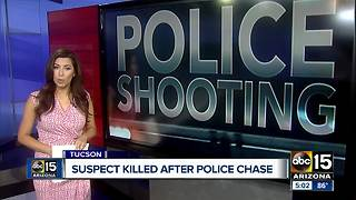 Suspect killed in Tucson officer-involved shooting