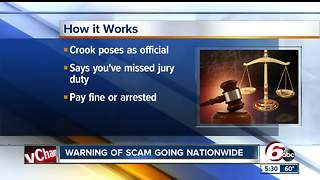 Nationwide jury duty scam makes it rounds - Video