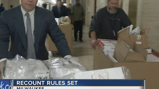 Wisconsin presidential recount begins Thursday - Video