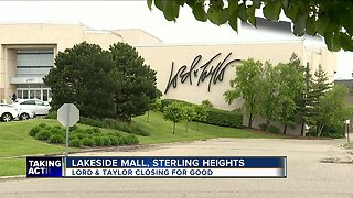 Lord + Taylor closing store at Lakeside Mall by September