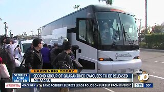 Another group of coronavirus evacuees to be released from quarantine