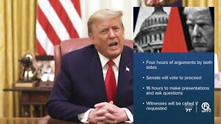 Schedule released for impeachment trial of former President Donald Trump