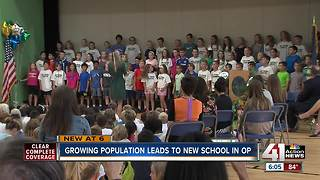 Growing population leads to new school in Overland Park - Video