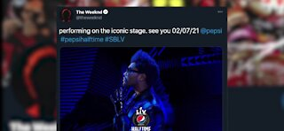 The Weeknd tweets about playing The Superbowl Halftime Show