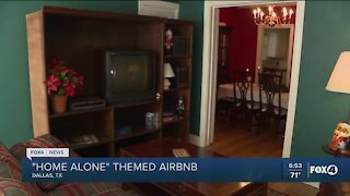 Home Alone themed AirBnB