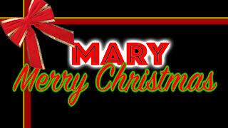 Mary Merry Christmas