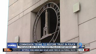 Commission aims to restore trust in BPD