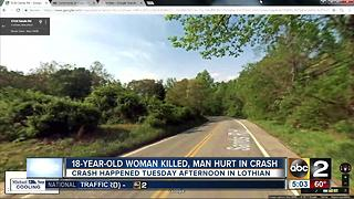 Teen dead in head-on crash in AACO - Video