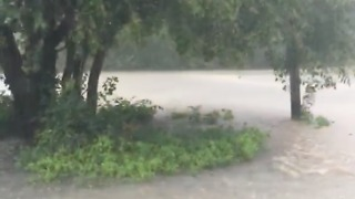 Heavy Rains Cause Flash Flooding in North-Central Oklahoma - Video