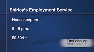 Who's Hiring: Shirley's Employment Service