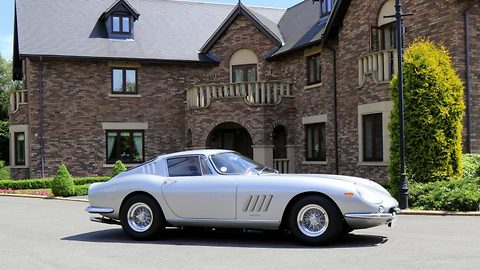 A national treasure! Nicholas Cage's limited edition Ferrari for sale for whopping £2.6 million