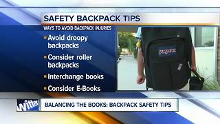 Experts offer backpack safety tips for kids - Video