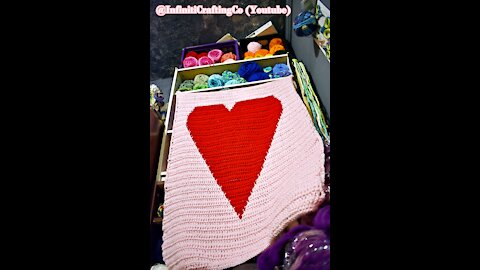 My Heart Will Go On (a Blanket) Crochet Graphghan
