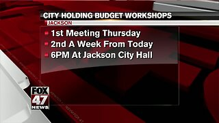 Jackson City Council to hold budget meetings