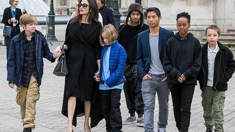Actress Angelina Jolie Just Took Her Kids On A Life-Changing Trip