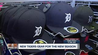 New apparel at Comerica Park this year - Video