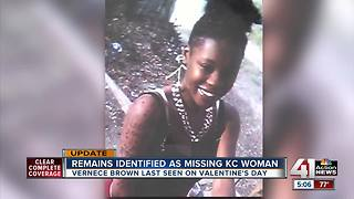 Remains identified as missing KC woman - Video