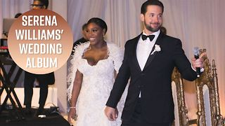 Vogue releases Serena Williams' wedding photos - Video