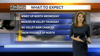 Another cold front is heading for the Valley - Video