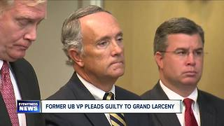 Top UB officials plead guilty to grand larceny - Video