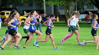 Cross country runners host fundraiser for rival high school | Digital Short - Video