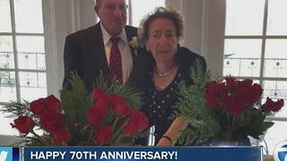 70th wedding anniversary on 7 Eyewitness News at 6am - Video