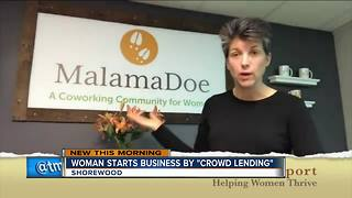 Crowdlending helped Shorewood business woman's dreams come true - Video