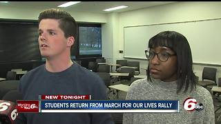 Students return from March for our Lives rally in D.C.