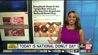 National Donut Day deals in the Tampa Bay area on Friday