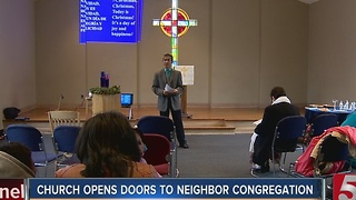 Church Opens Doors To Neighbor Congregation - Video