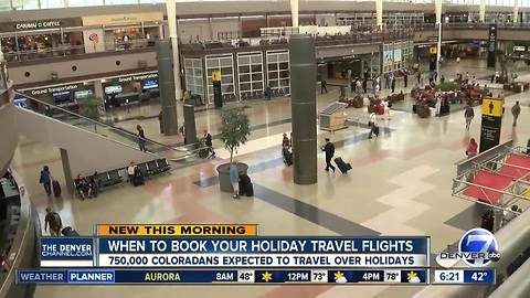 AAA: Book tickets now for holiday travel