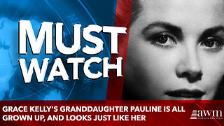 Grace Kelly's Granddaughter Pauline Is All Grown Up, And Looks Just Like Her - Video