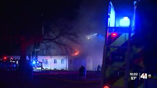 'It just breaks my heart': Nearly century-old Johnson County church catches fire