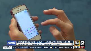 Twitter expands character limit - Video