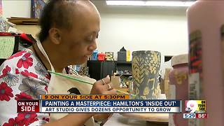 Hamilton's Inside Out Art Studio gives creative outlet to people with disabilities - Video