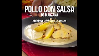 Chicken with Apple Sauce
