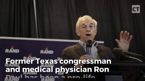 Ron Paul Shares Horrifying Story Showing Why He's Pro-life