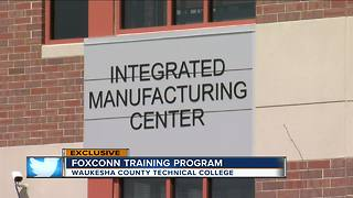 WCTC Foxconn Training program coming soon - Video