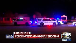 Police: Man shot, killed in Chandler overnight - Video