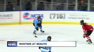 Beauts win final home game of the regular season - Video