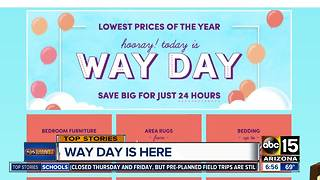 Home decor site offering steep discounts - Video