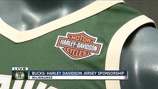 Milwaukee Bucks partner with Harley-Davidson for jersey sponsorship - Video