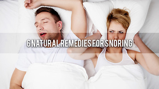 6 Natural Remedies For Snoring - Video