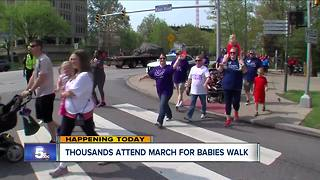 Annual March for Babies event - Video
