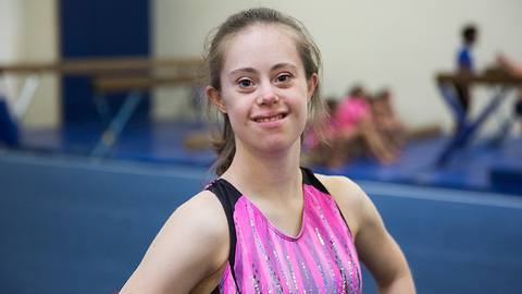 Gymnast With Down Syndrome Defies Doctors | BORN DIFFERENT