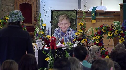 Full Video: Memorial service for 10-year-old Ty Tesoriero