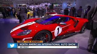 Ask the Expert: Sneak peek at the Detroit annual auto show - Video