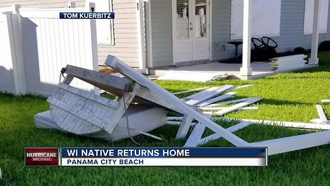 Kenosha native impacted by hurricane